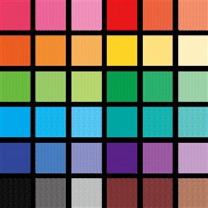色の三属性(色相・明度・彩度)